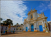 Immaculate Conception Cathedral in Pondicherry, India